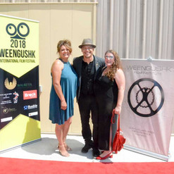 WIFF-red-carpet-Shawbonquit-and-Arcand-a