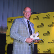 WIFF 2019 Brock VP Brian Hutchinson Accepts Builder Award
