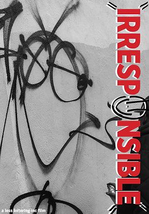 """DVD - """"IRRESPONSIBLE"""""""