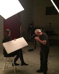 Com um dos melhores fotógrafos de public