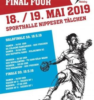 Pokal Final Four - Handballkreis Köln/Rheinberg