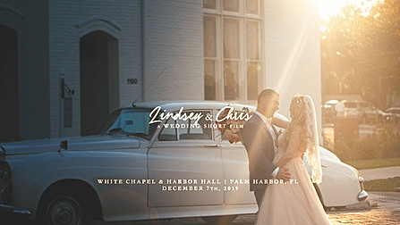 The Groom Delivers Some Epic Wedding Vows To His Bride   Lindsey + Chris   White Chapel & Harbor Hall   Palm Harbor, Florida