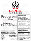 Fundraiser PepperoniSticks Lbl_Vert-175g