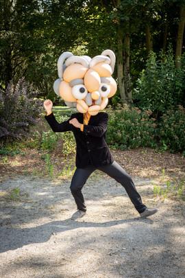 sculpteur de ballon, cabezudos
