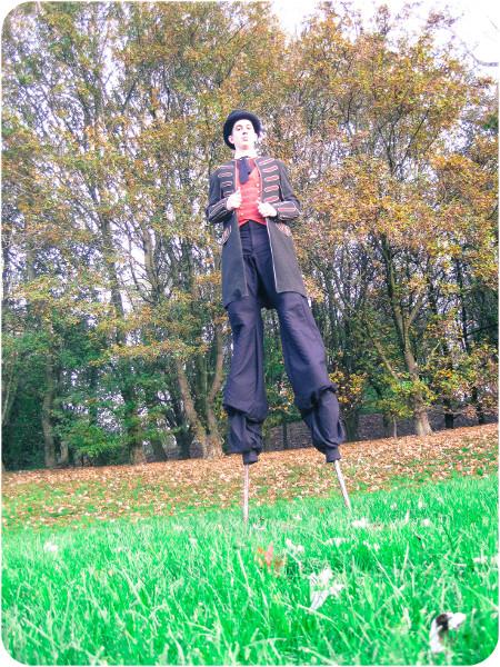 sculpteur de ballon, échassier