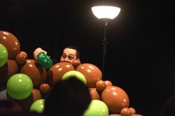 spectacle de sculpture de ballon