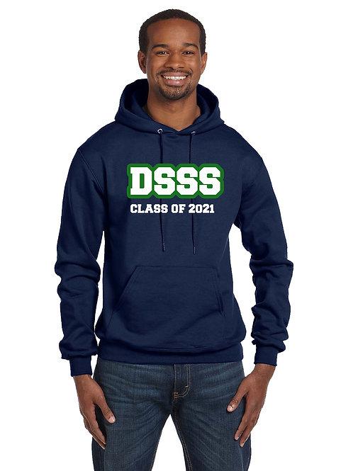 Graduation Hoody - Black or Navy David Suzuki