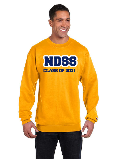 Graduation Crew Neck (available in Navy, Gold, Grey or Charcoal Heather)