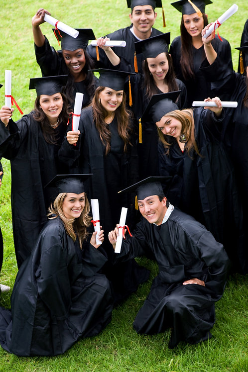 Graduation Gown Set - McDonald Collegiate
