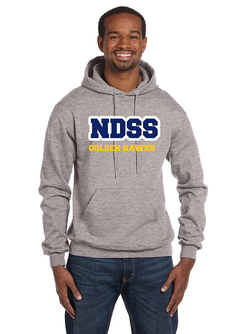 Alumni Hoody (available in Navy, Gold, Grey or Charcoal Heather)