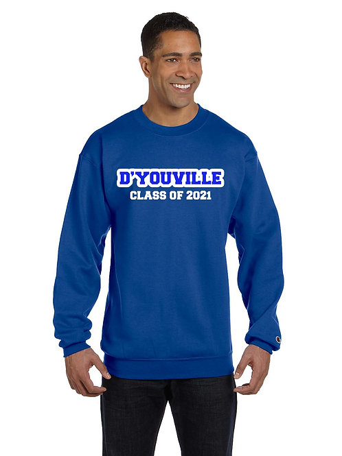 Graduation Crew Neck - Black or Royal