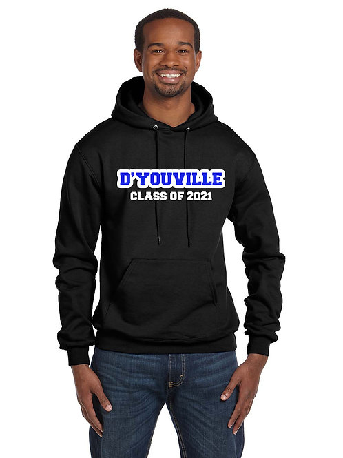Graduation Hoody - Black or Royal