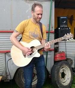 gitaar rollende keukens