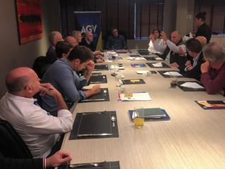 Economia e política na pauta da reunião da AGV