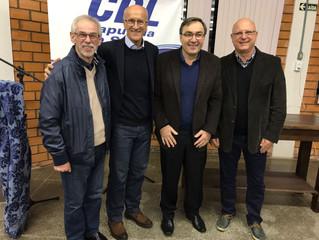 Vilson Noer reúne-se com empresários da CDL de Sapucaia