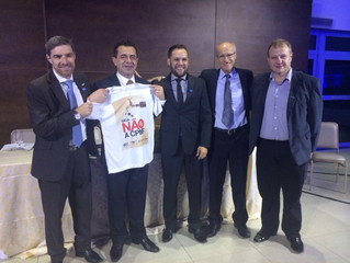 AGV participa de posse da nova diretoria da CDL Lajeado