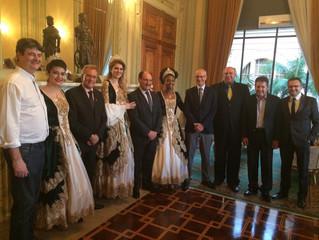 AGV e CDL Pelotas se reúnem com o governador José Ivo Sartori