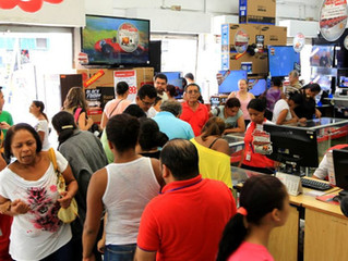 Confiança do consumidor sobe em setembro