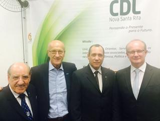 AGV apoia criação da CDL Nova Santa Rita como alternativa para superar a crise na região