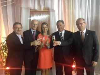 AGV participa da comemoração dos 30 anos da ACINP