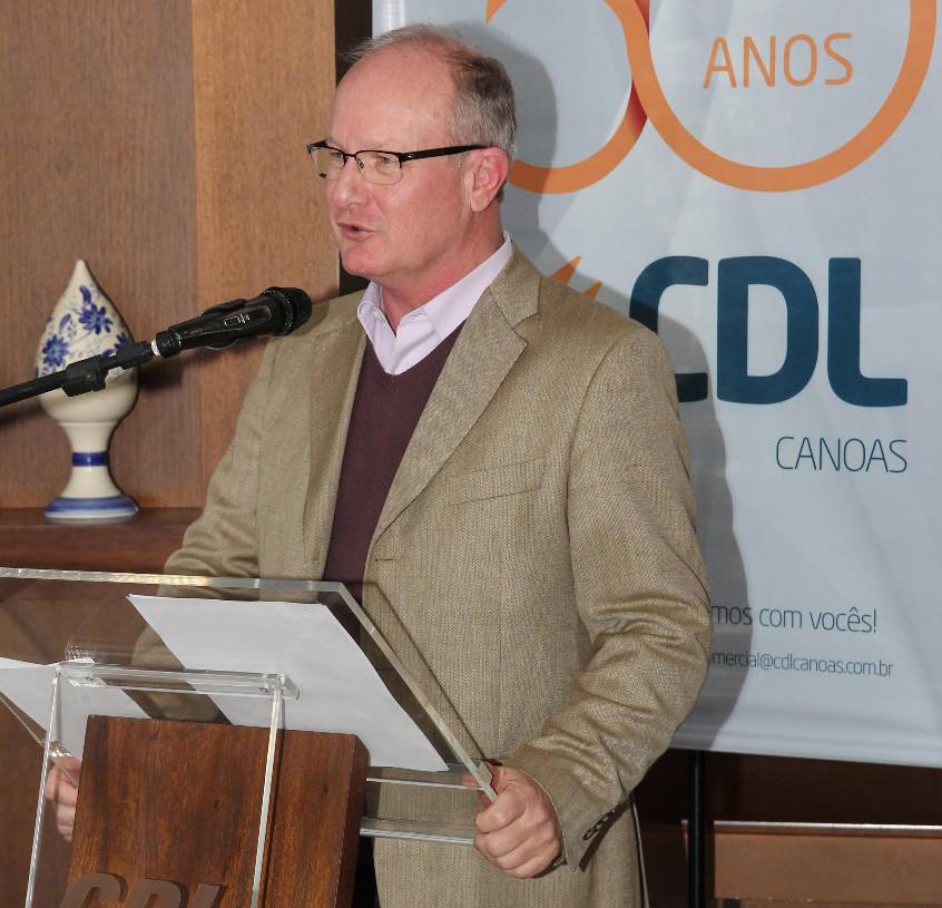Presidente CDL Paulo Fritzen