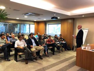 Vilson Noer conversa com empresários de diferentes setores