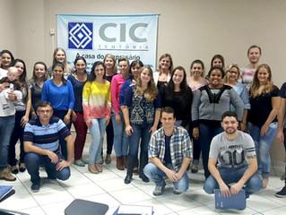 CIC Teutônia realiza mais um treinamento gratuito sobre crédito e cobrança