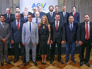 AGV empossa nova gestão