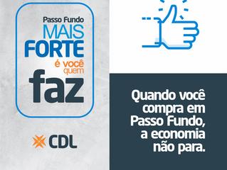 Passo Fundo | CDL lança campanha de apoio aos negócios locais