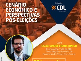 Passo Fundo   Reunião Almoço aborda cenários econômicos pós-eleições