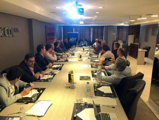 Diretoria da AGV realiza reunião mensal