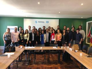 AGV na Semana Municipal do Jovem Empreendedor de Porto Alegre