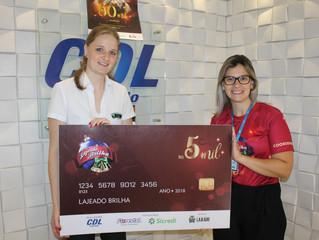 Lajeado Brilha sorteia quinto prêmio de R$ 5 mil amanhã