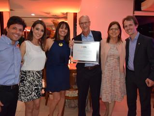 Presidente da AGV é homenageado pela CDL Porto Alegre