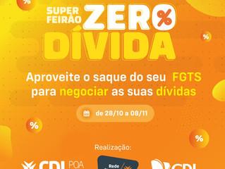 Santa Maria | Super Feirão Zero Dívida, da CDL, vai até dia 8