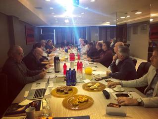 AGV reúne-se com diretores para debater assuntos decisivos para o varejo