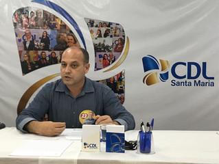 Santa Maria | Luciano Guerra, do PT, participa de painel da CDL com candidatos à Prefeitura