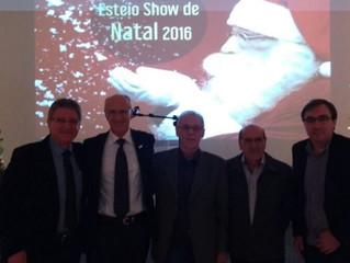 """Vilson Noer palestra na abertura do """"Esteio Show de Natal"""""""