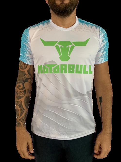 Motorbull® Camiseta Linha Racing Branca