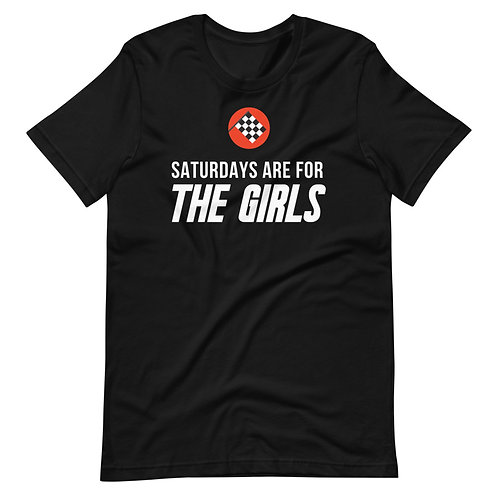 Saturday's Are For The Girls Essential Tee