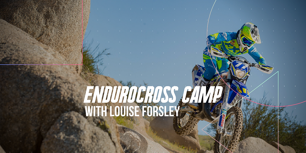 Women's Only Enduro Camp with Louise Forsley