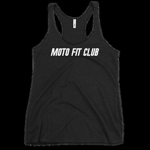 Moto Fit Club Women's Racerback Tank