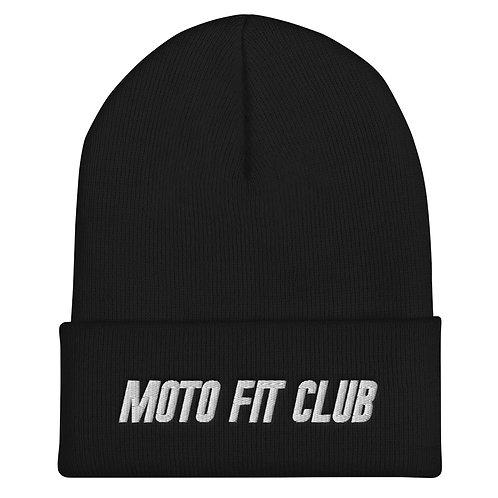 Moto Fit Club Cuffed Beanie