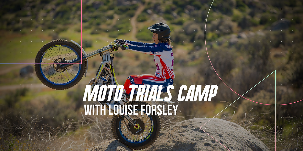Moto Trials Camp with Louise Forsley