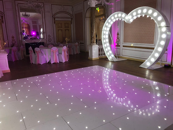 LED White Starlit Dancefloor