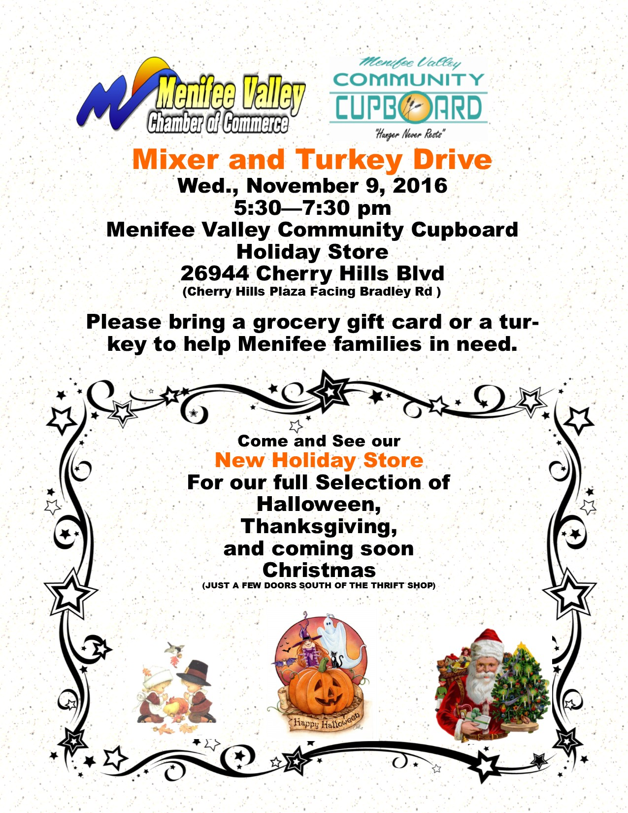 Turkey Drive & Mixer