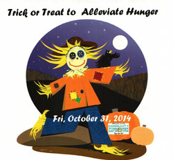 Trick or Treat to Alleviate Hunger