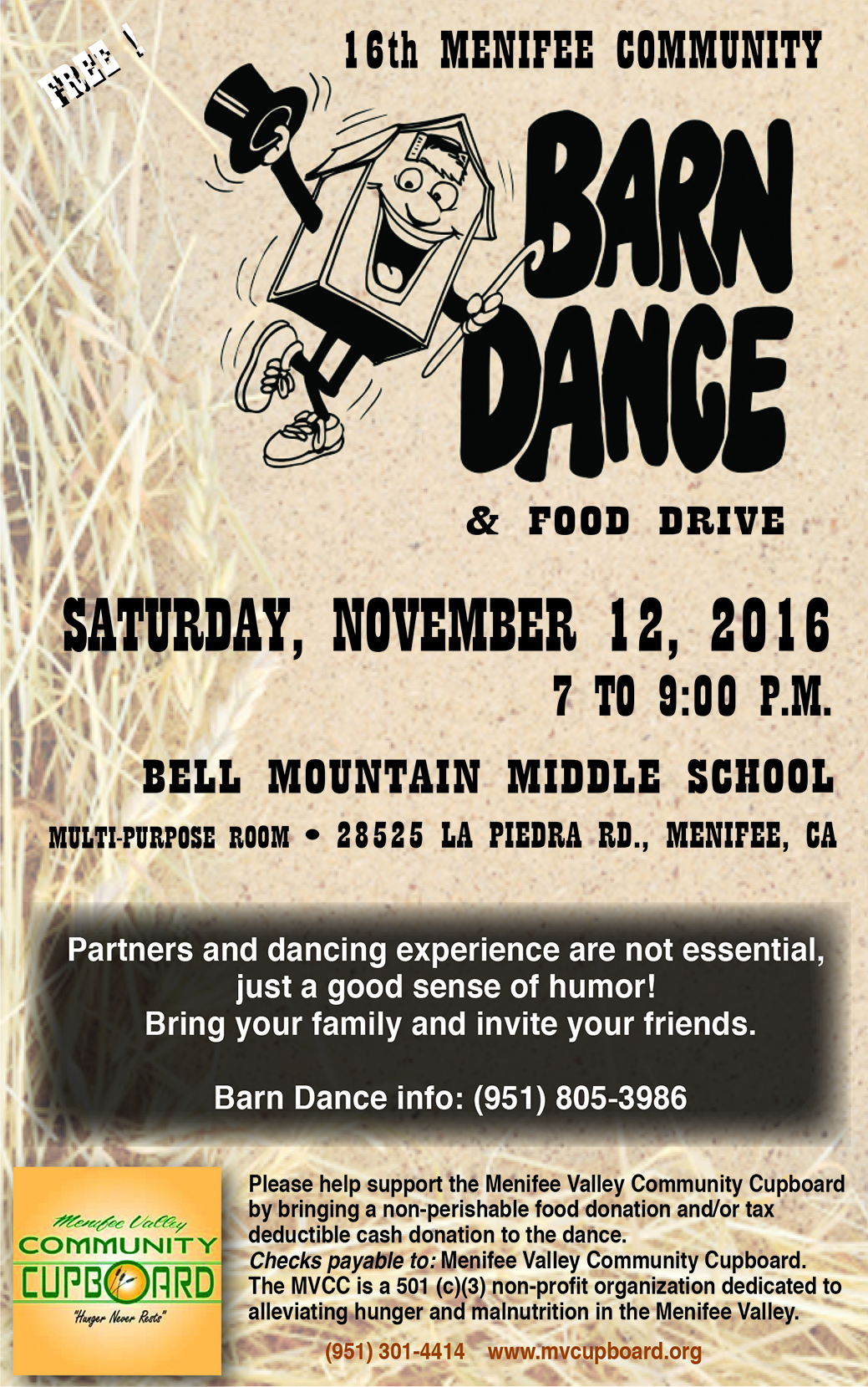 2016BarnDanceFlyer