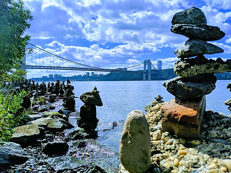 Rock art. George Washington Bridge. Washington Heights.