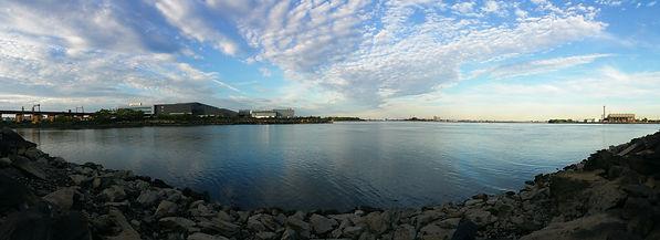 Landscape. Randalls Island